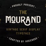 The Mourand Font