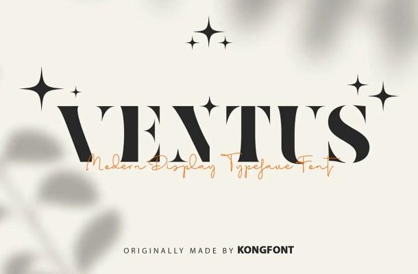 Ventus Typeface