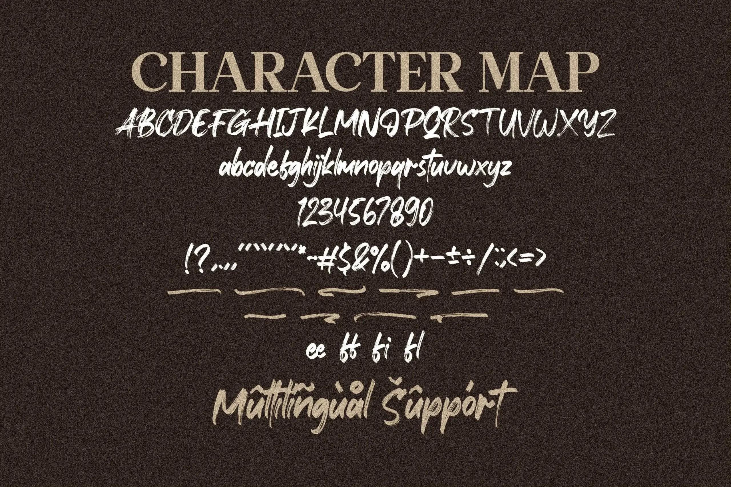 Xantorid Premium Brush Font -3