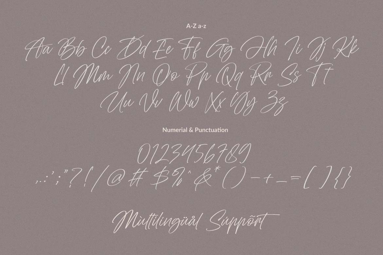 Abu Dhabi Handwritten Signature Font -3