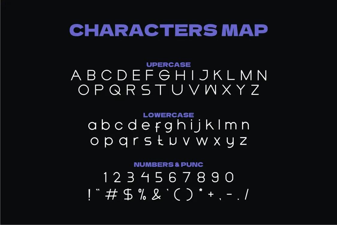 Amosel Sans Serif Font -3