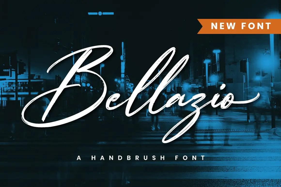 Bellazio Modern Brush Font -1