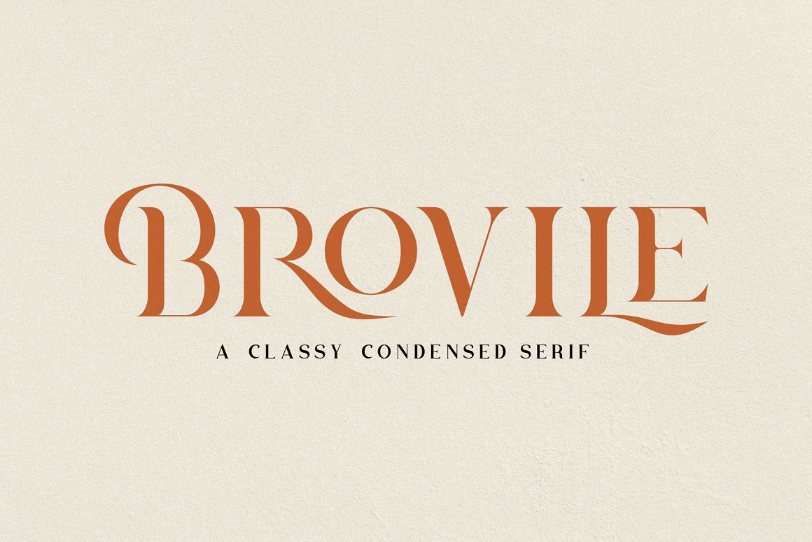 Brovile Classy Serif Font -1