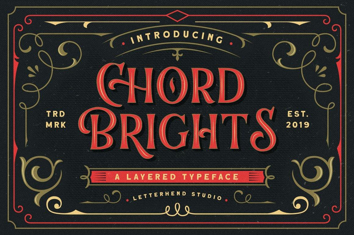 Chord Brights Display Typeface -1