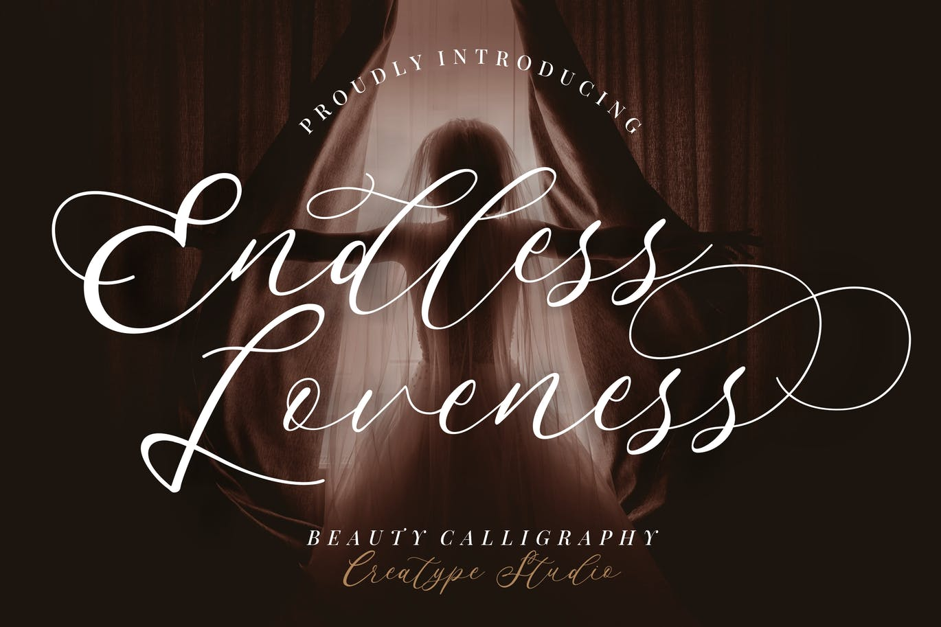 Endless Loveness Calligraphy Font -1