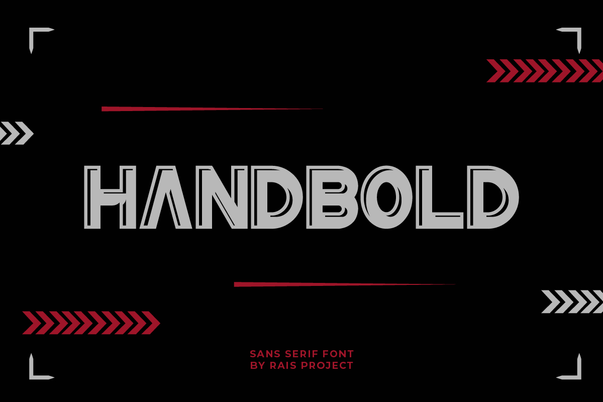 HanBold Sans Serif Font -1