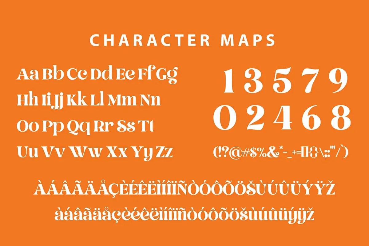 Hellowin Modern Classy Serif Font -3