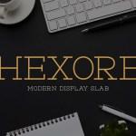 Hexore Font