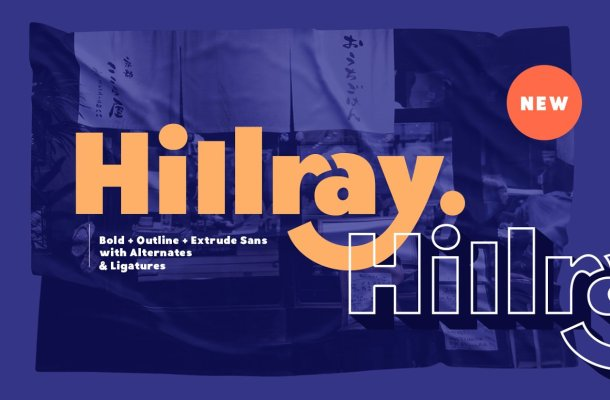 Hillray Font