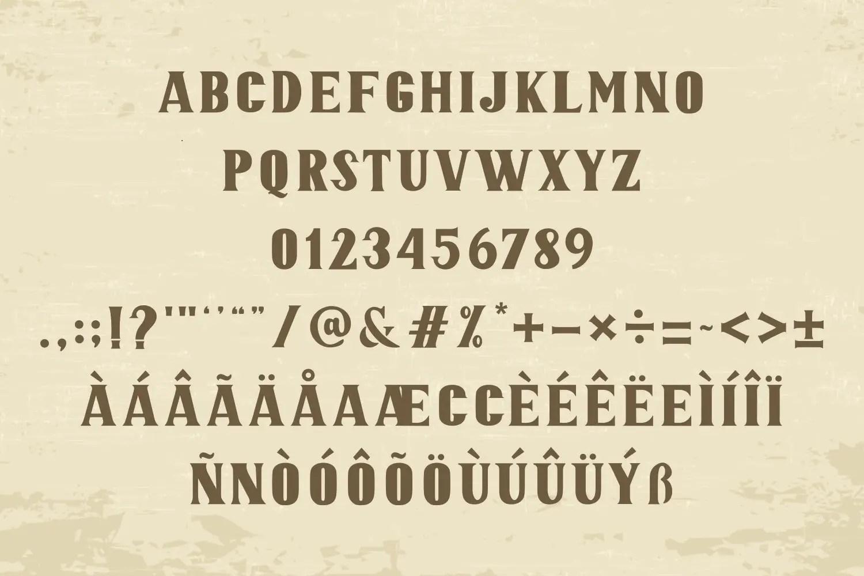 JOAQUIN Vintage Display Font -3
