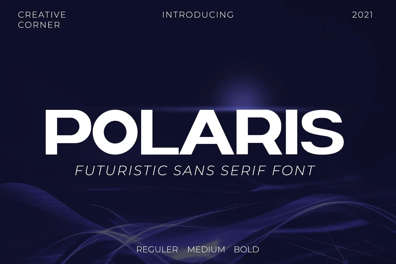 Polaris Sans Serif Font -1