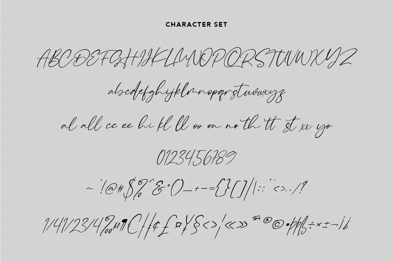 Raliscka Handwritten Script Font -3