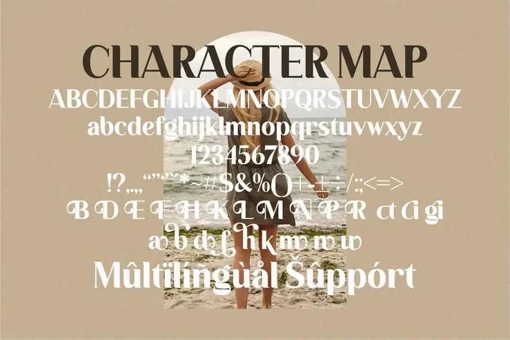 Regictik Luxury Serif Font -3