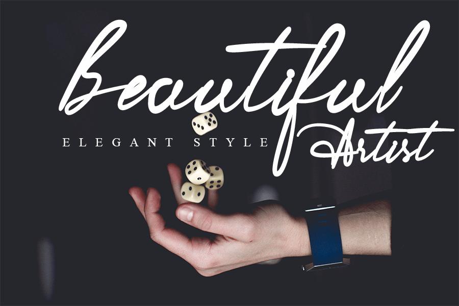 Romantica Beautiful Handwritten Font -3