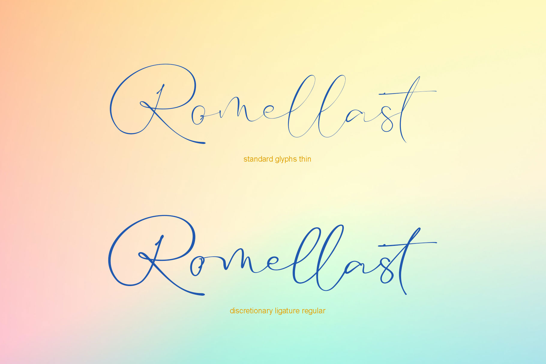 Romellast Handwritten Font -2
