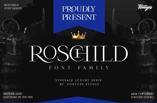 Roschild Font