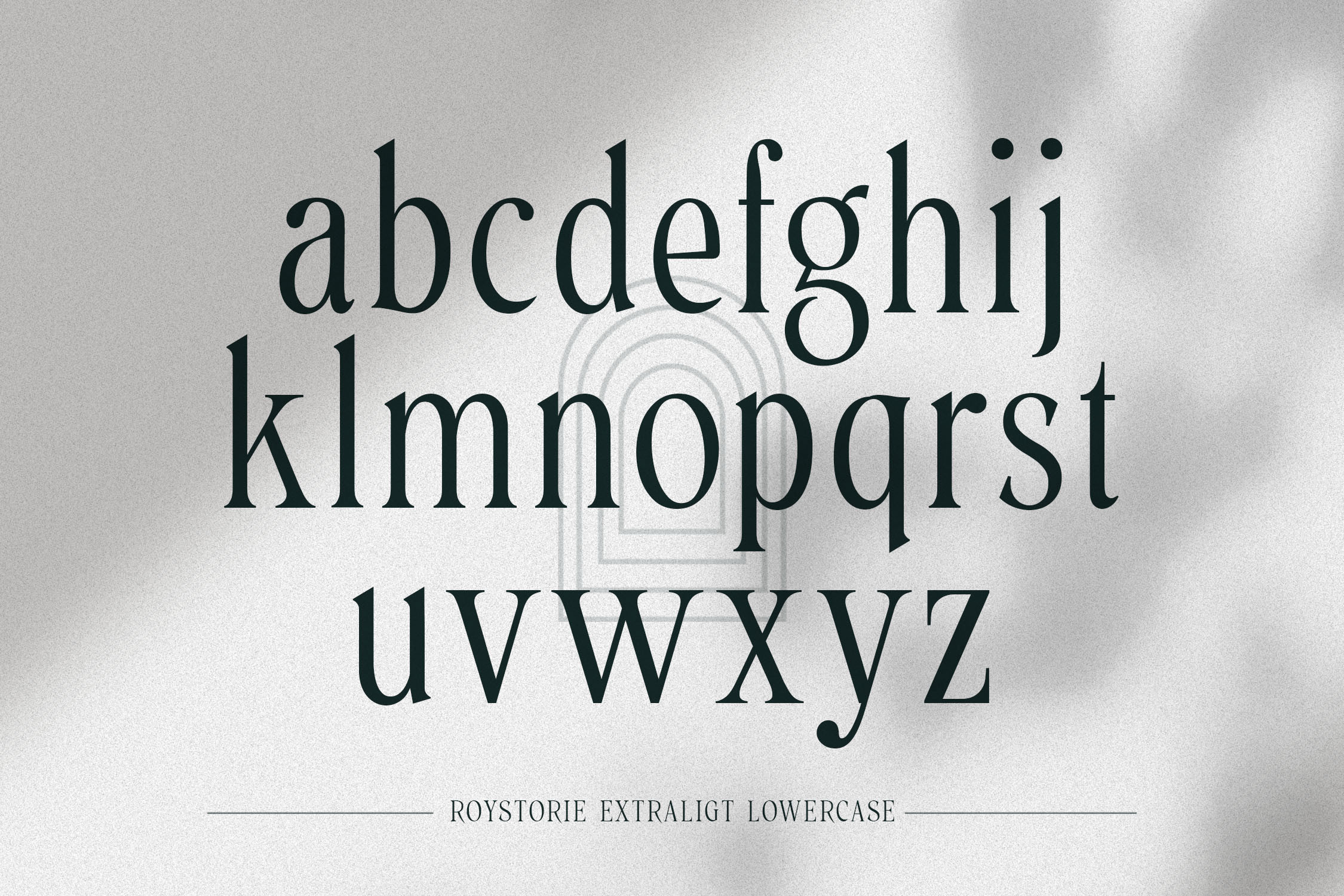 Roystorie Serif Font -2