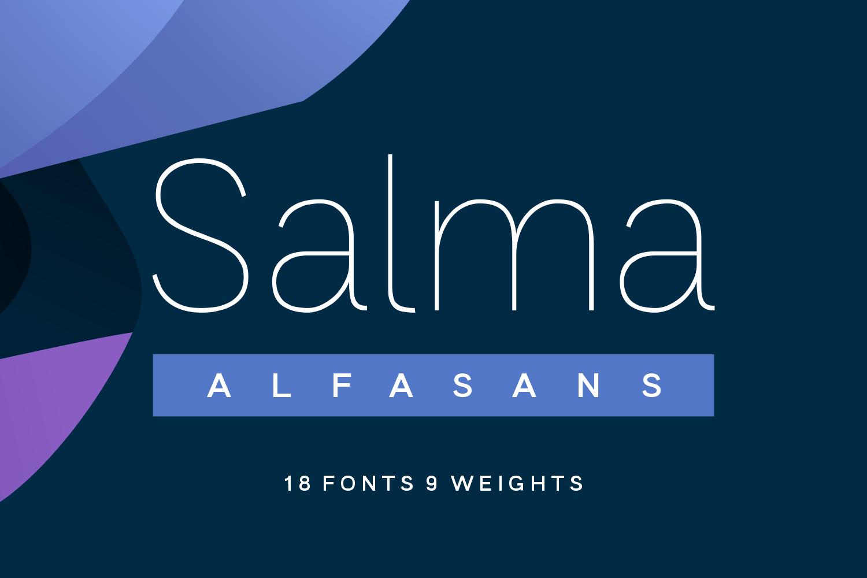 Salma Sans Serif Font -1