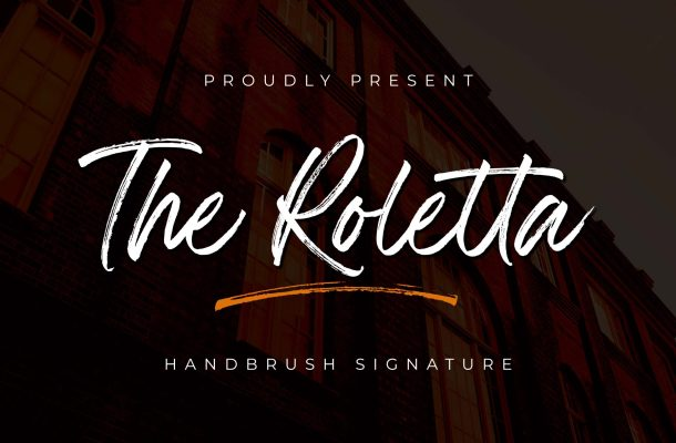 The Roletta Font