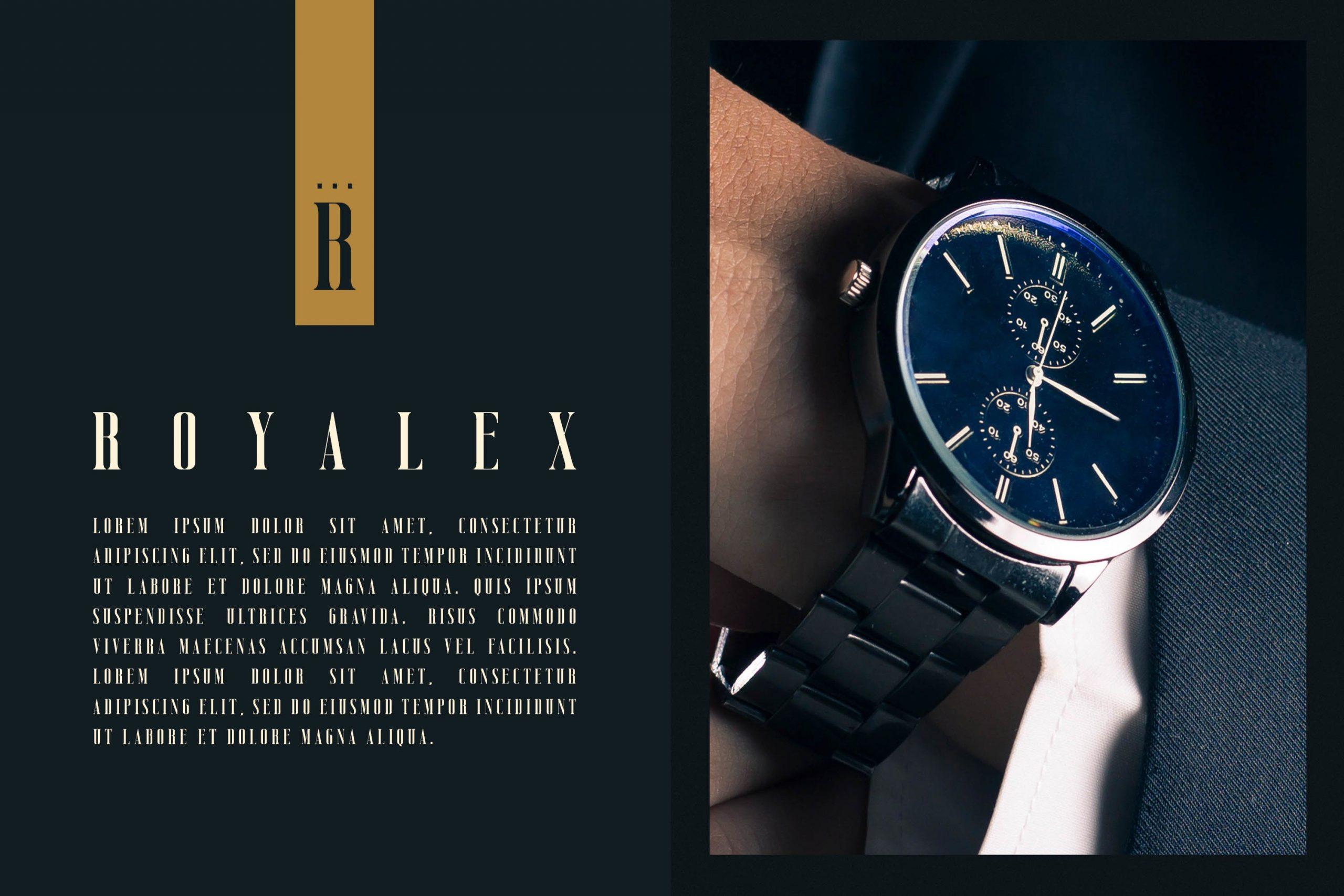 Vicenza Luxury Elegant Seriffont -2