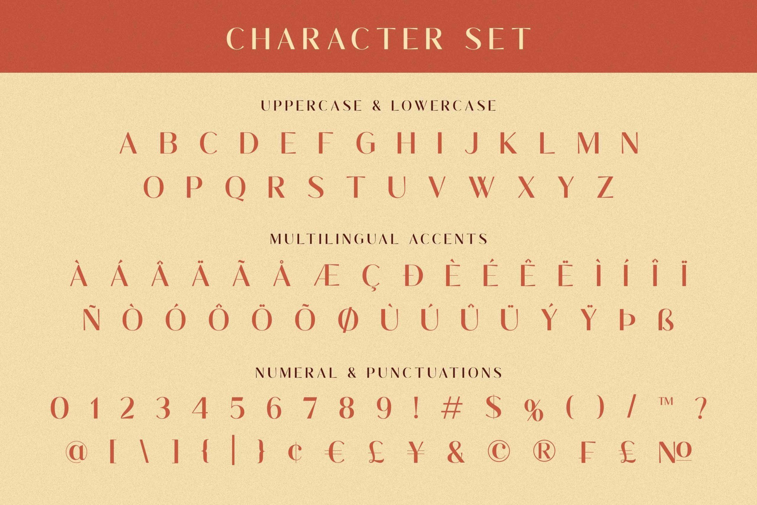 Waluxe Luxurios Roman Sans Font -3