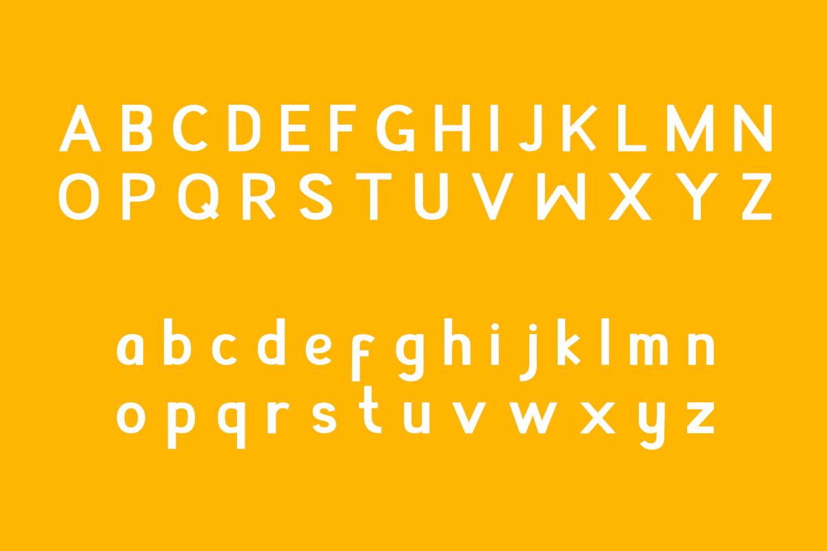 Appendix Modern Sans Font -2