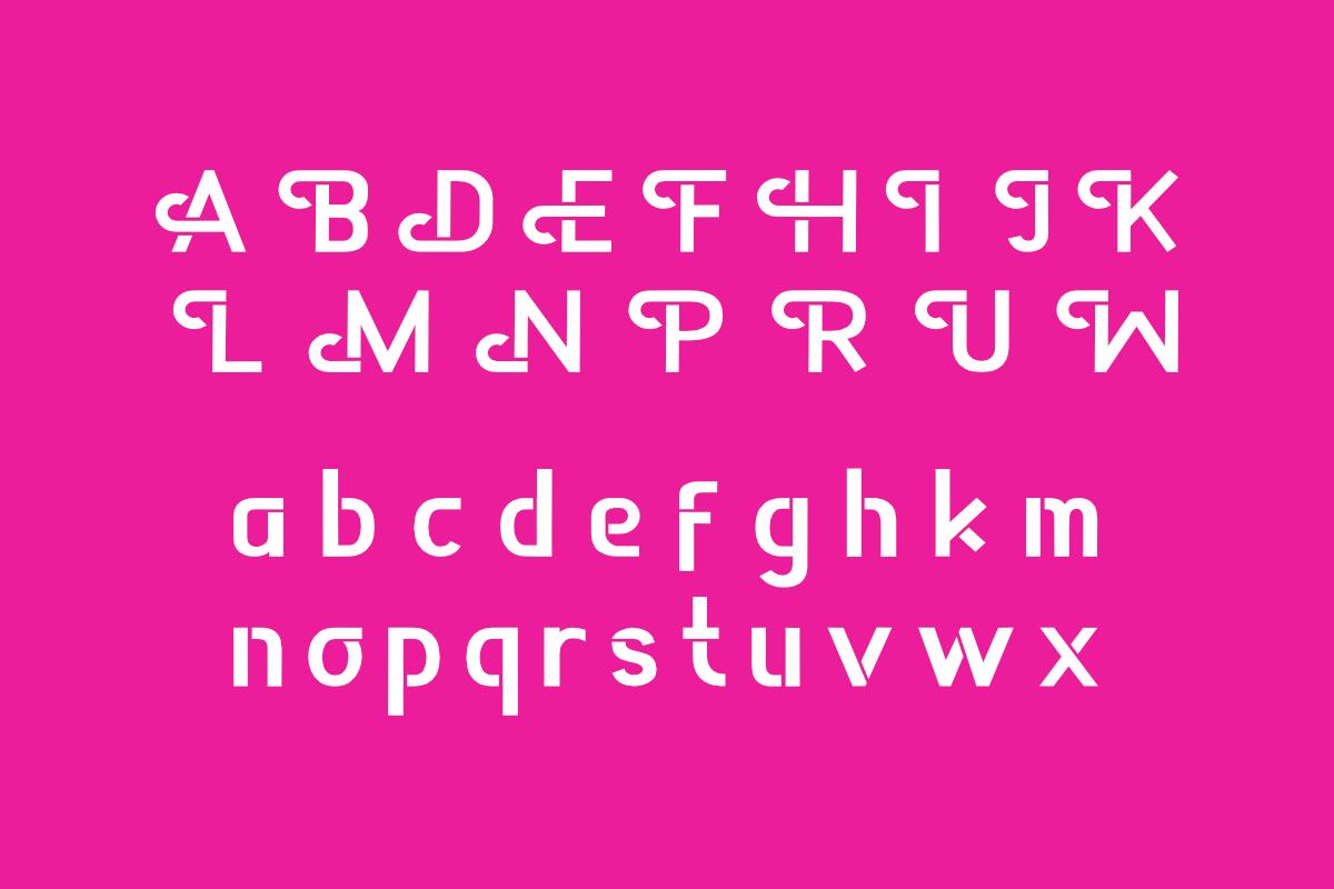 Appendix Modern Sans Font -3
