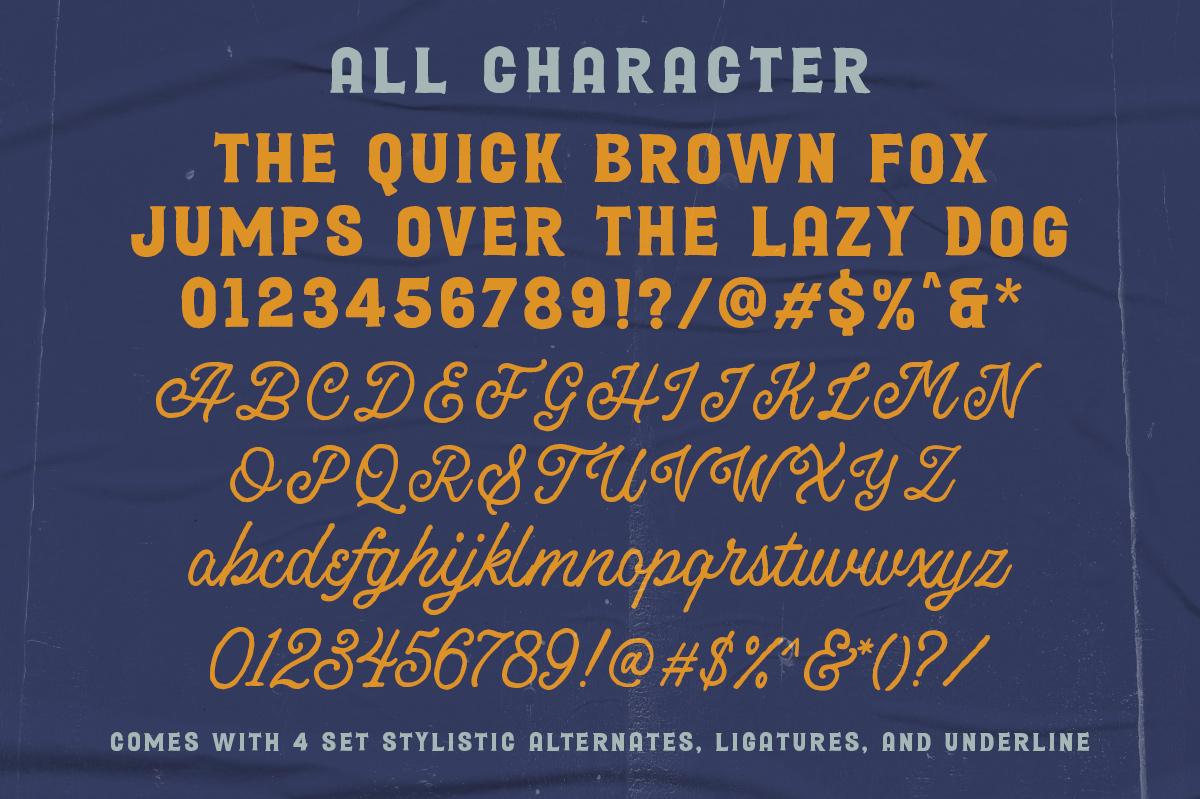 Broadley Serif Script Font Duo -3