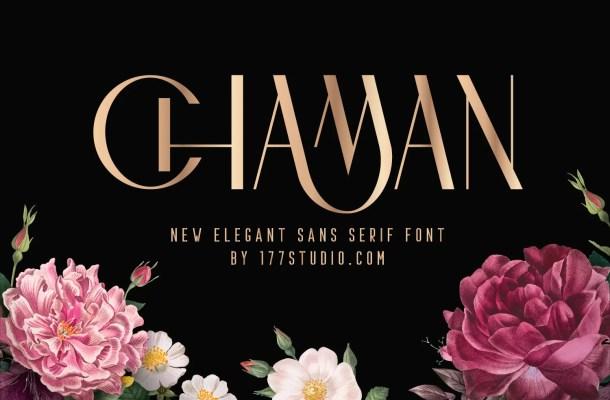 Chaman Elegant Font