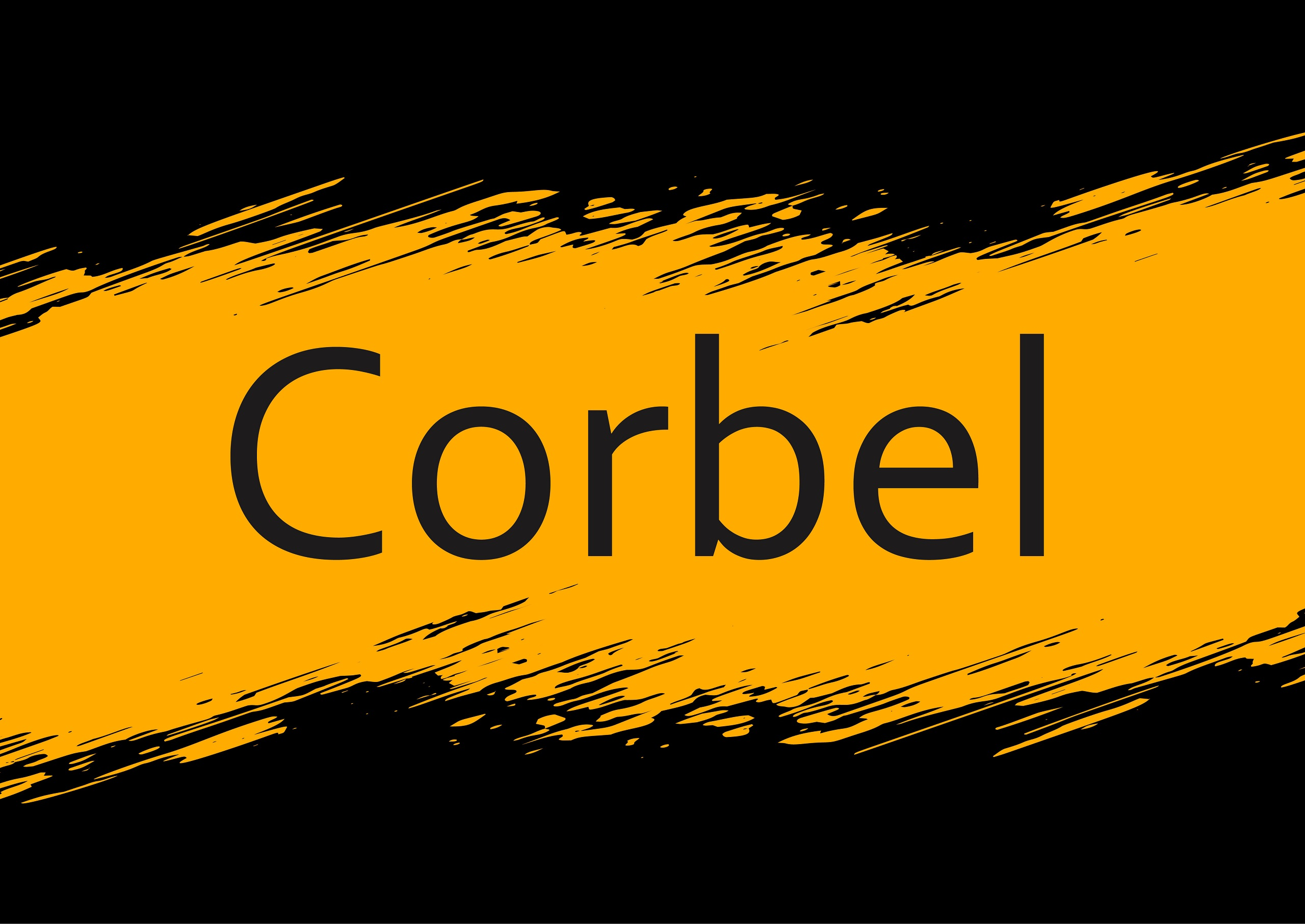 Corbel Sans Serif Typeface -1