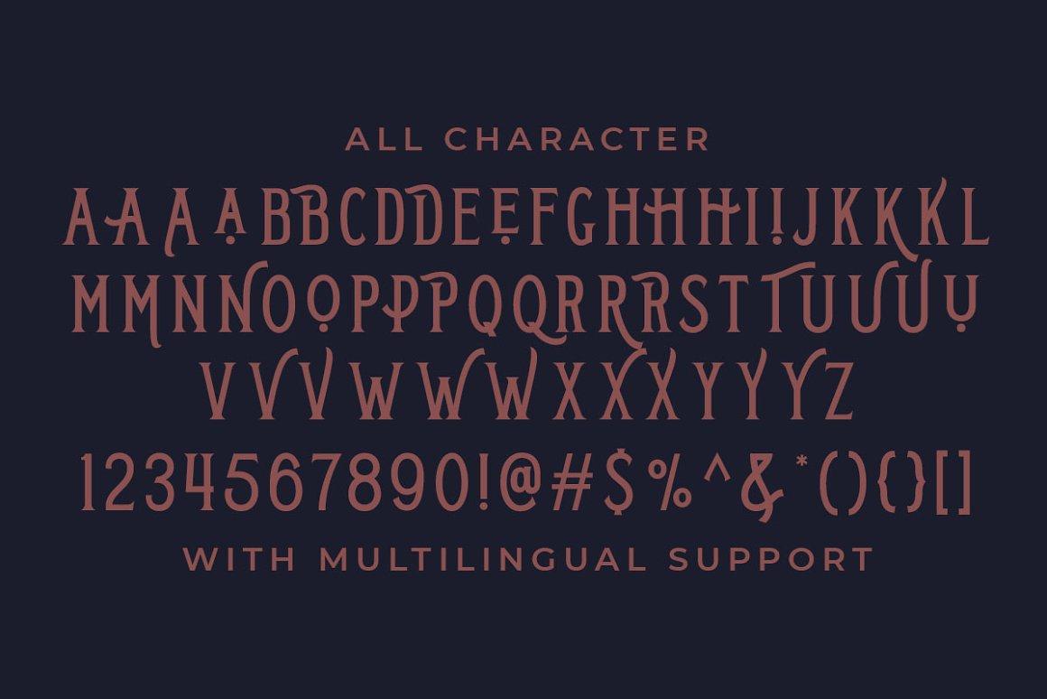 Dirchave Display Typeface -3