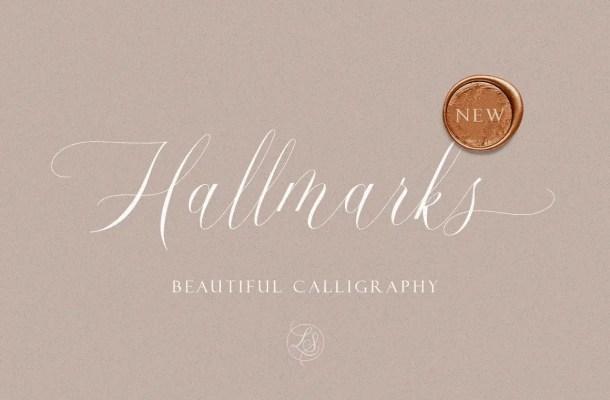 Hallmarks Font