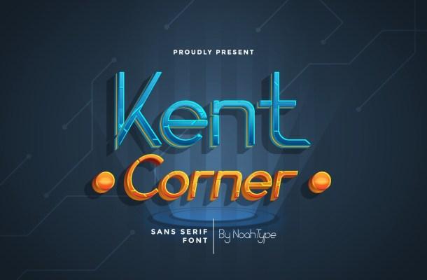 Kent Corner Font