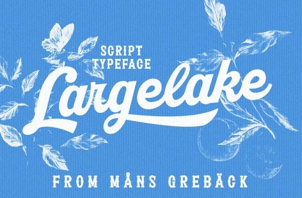 Largelake Font