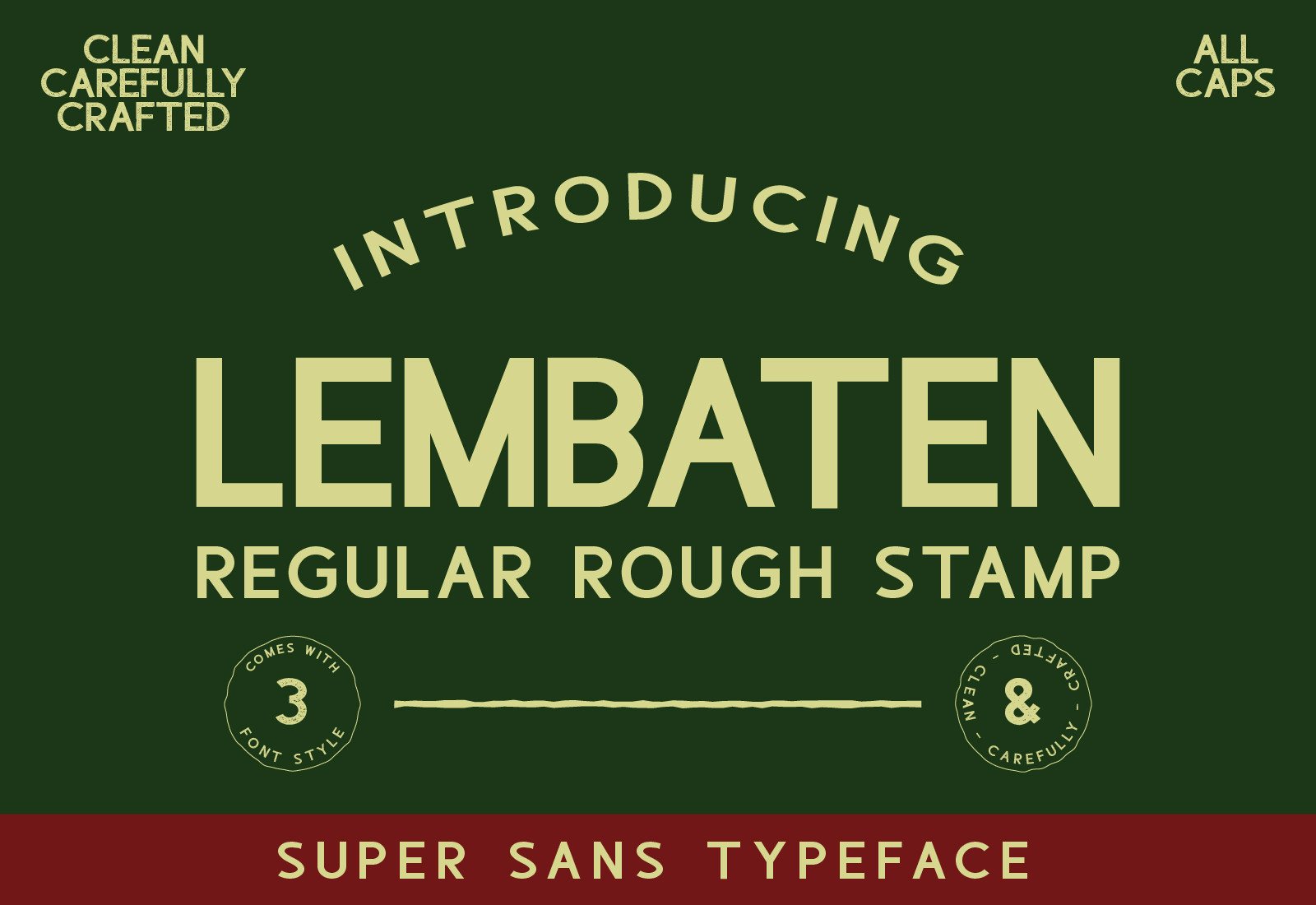 Lembaten Sans Serif Font -1