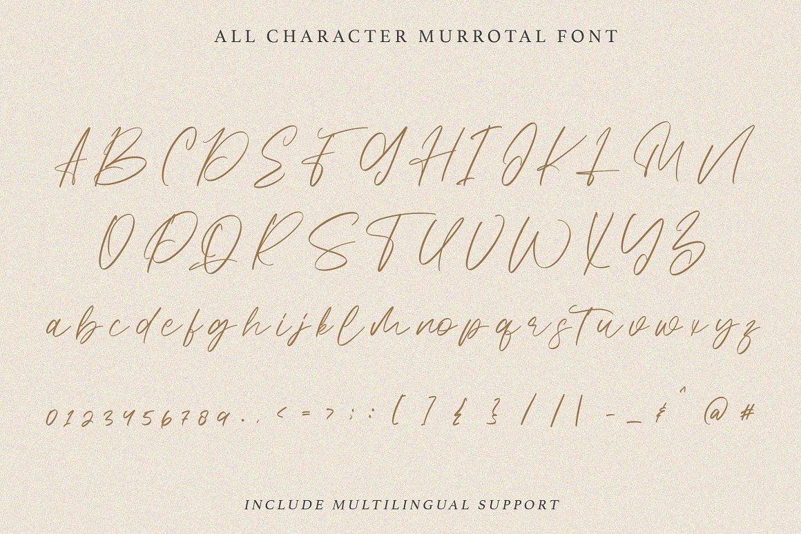 Murottal Stylish Handwritten Font -3