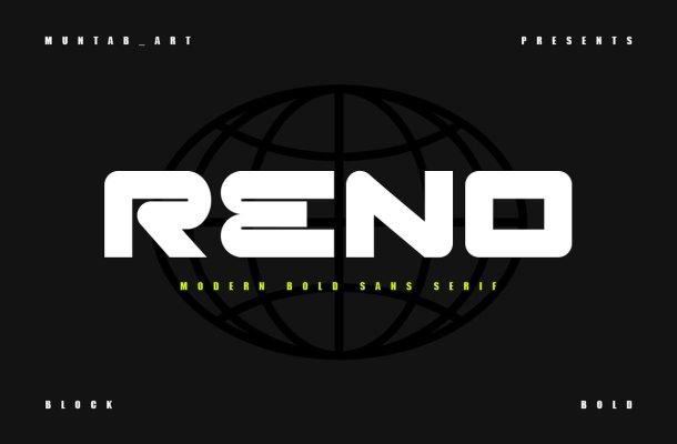 Reno Font