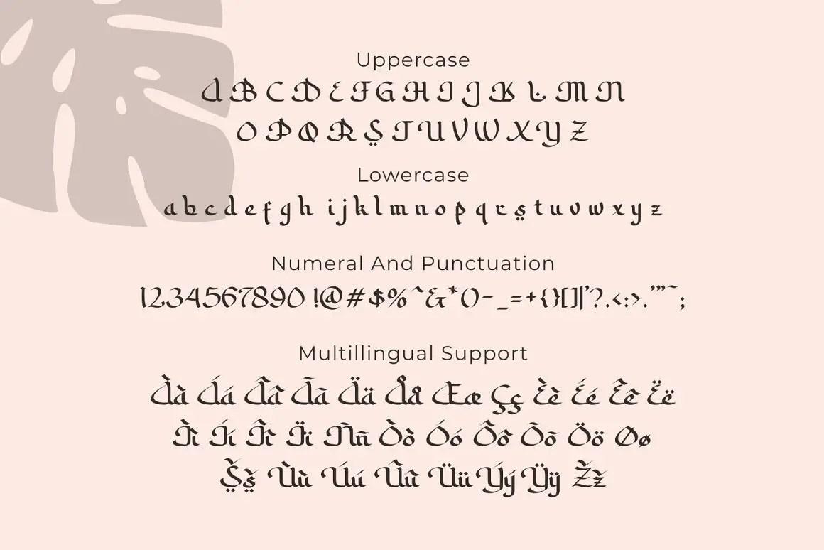 Sabana Arabic Style Font -3