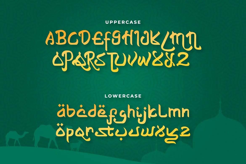 Shayan Arabic Font -2