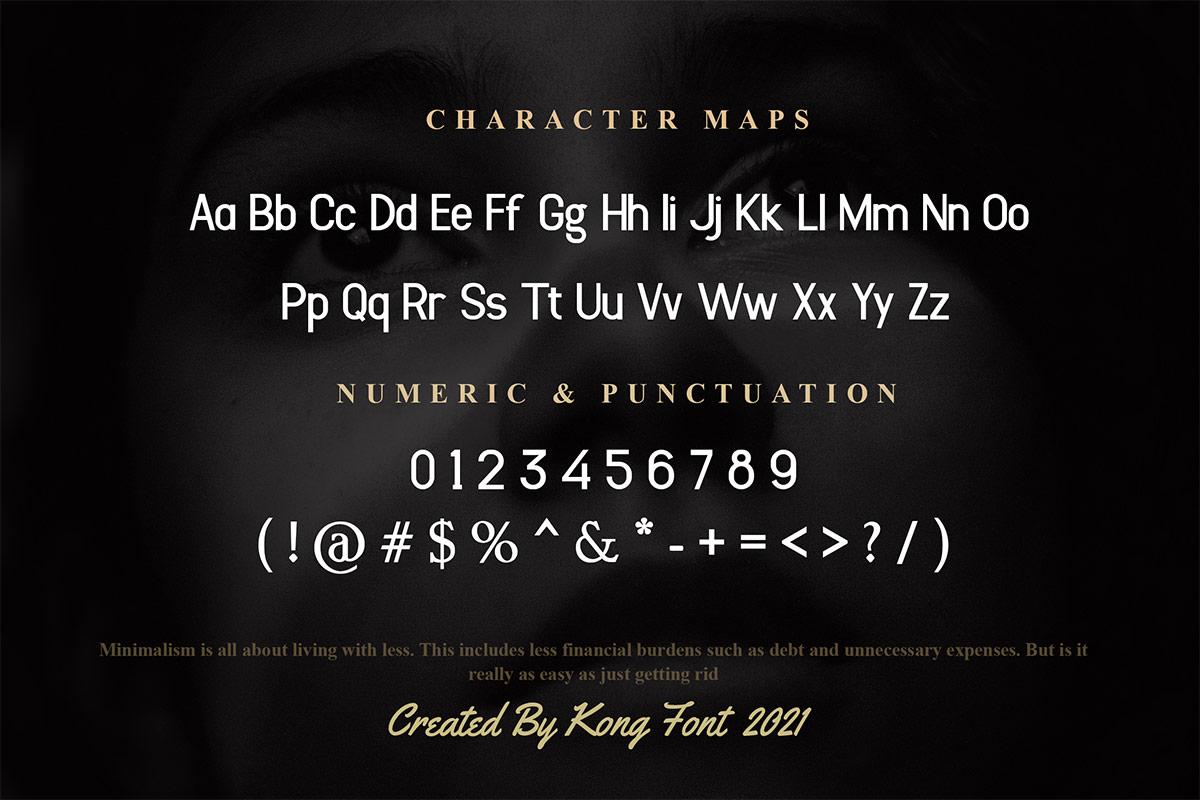 Sulcant Sans Serif Font -3