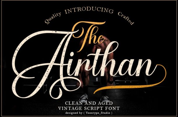 The Airthan Font