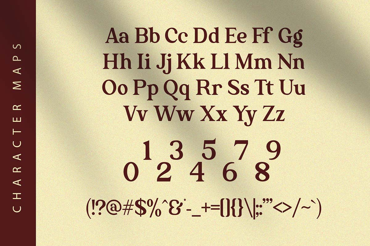 The Texterius Modern S3rif Font -1