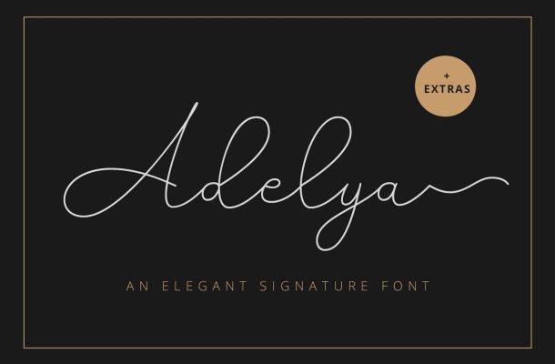 Adelya Font