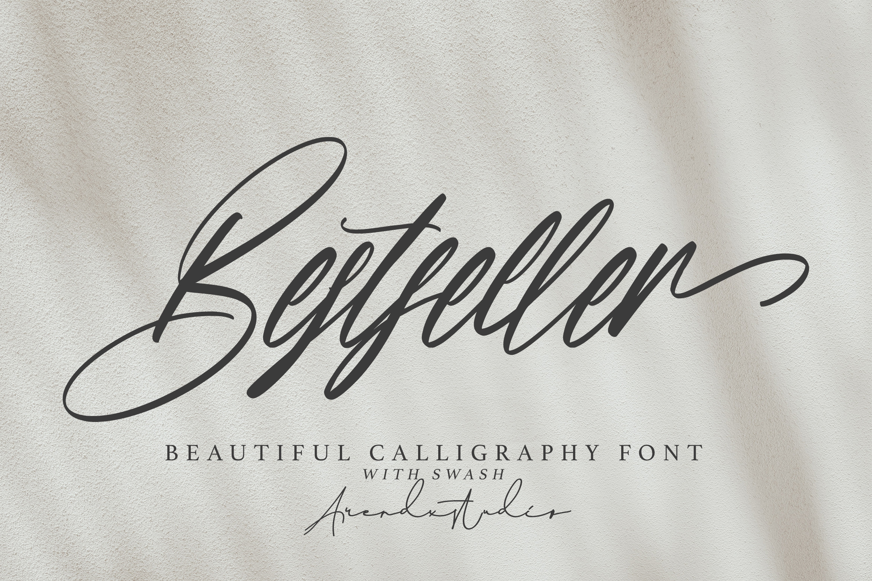 Bestseller Beautiful Calligraphy Font -1