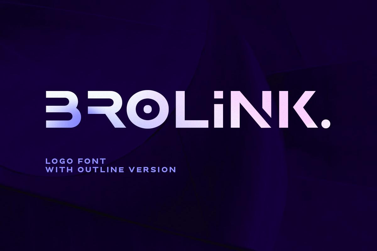 Brolink Modern Display Font -1