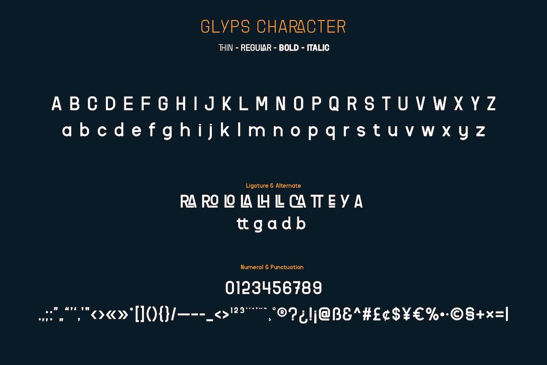 Cathra Sans Serif Font -3