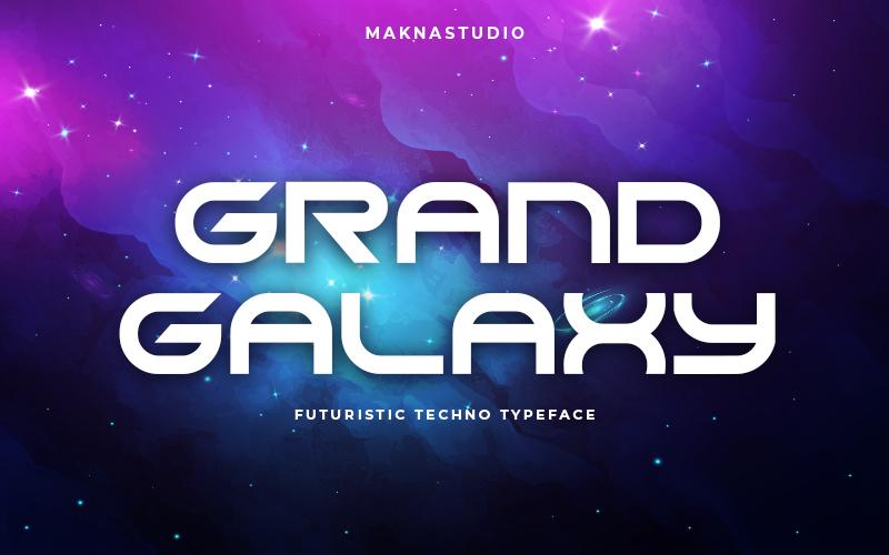GRAND GALAXY Display Font -1