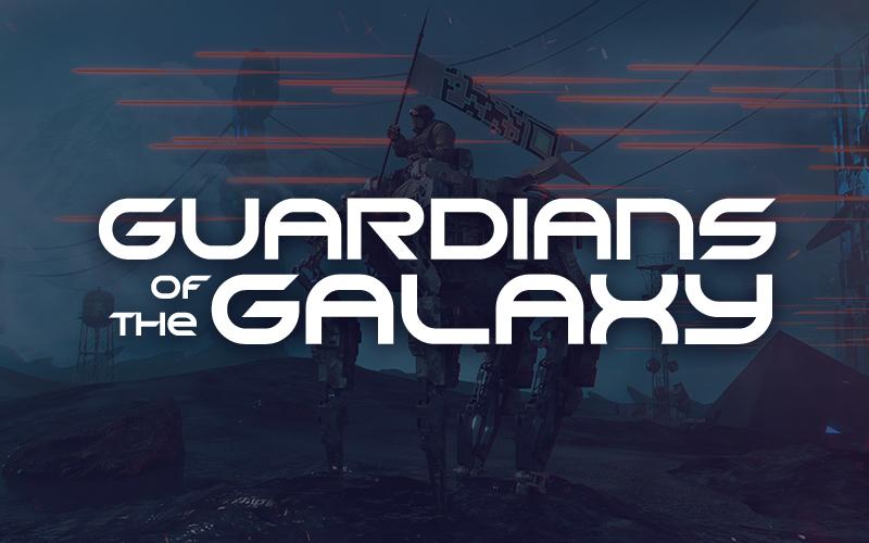 GRAND GALAXY Display Font -2