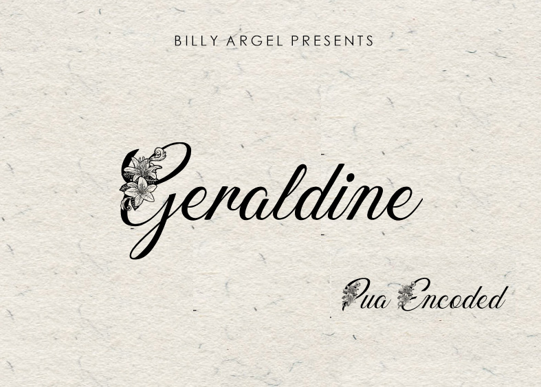 Geraldine Modern Calligraphy Font -1