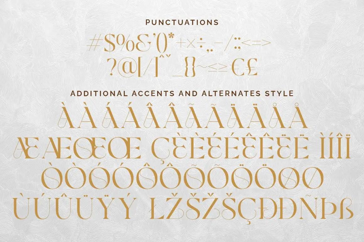 Glamore Luxury Serif Font -1